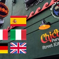 Social Language Learning in Chicha Restaurant, Liverpool