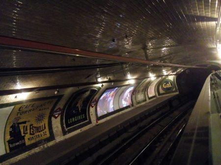 Metro station Chamberi