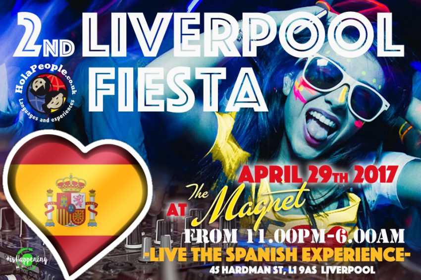 Liverpool Fiesta! Spanish night at The Magnet Liverpool