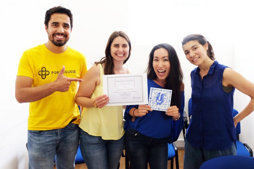 Portuguese classes in Portugal
