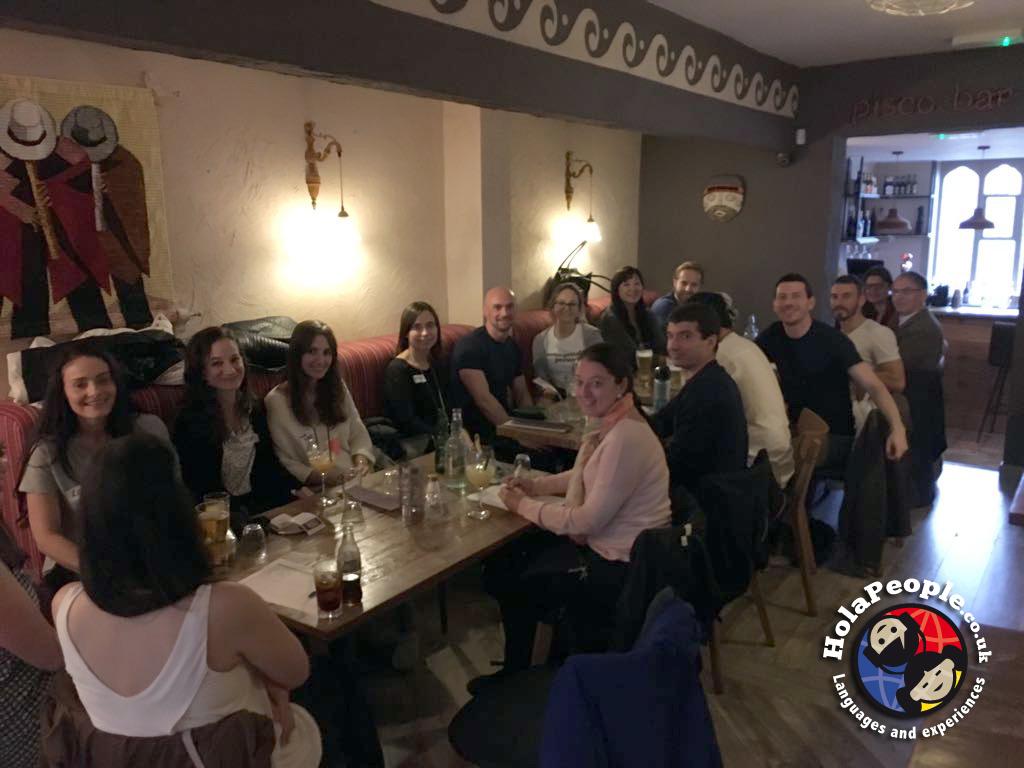 Social Language Experience - Chicha Restaurant Liverpool