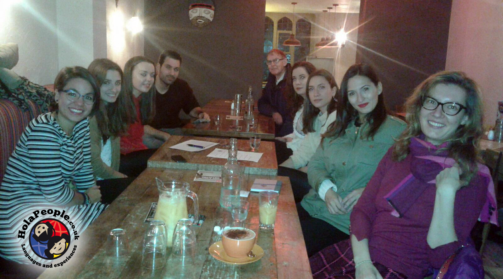 Social Languages Learning at Chicha Restaurant