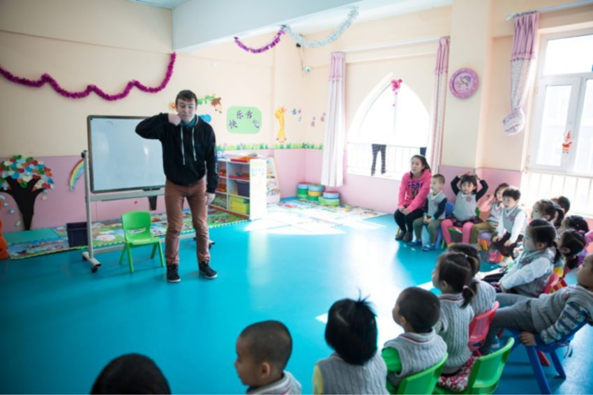 Work in China as an English teacher