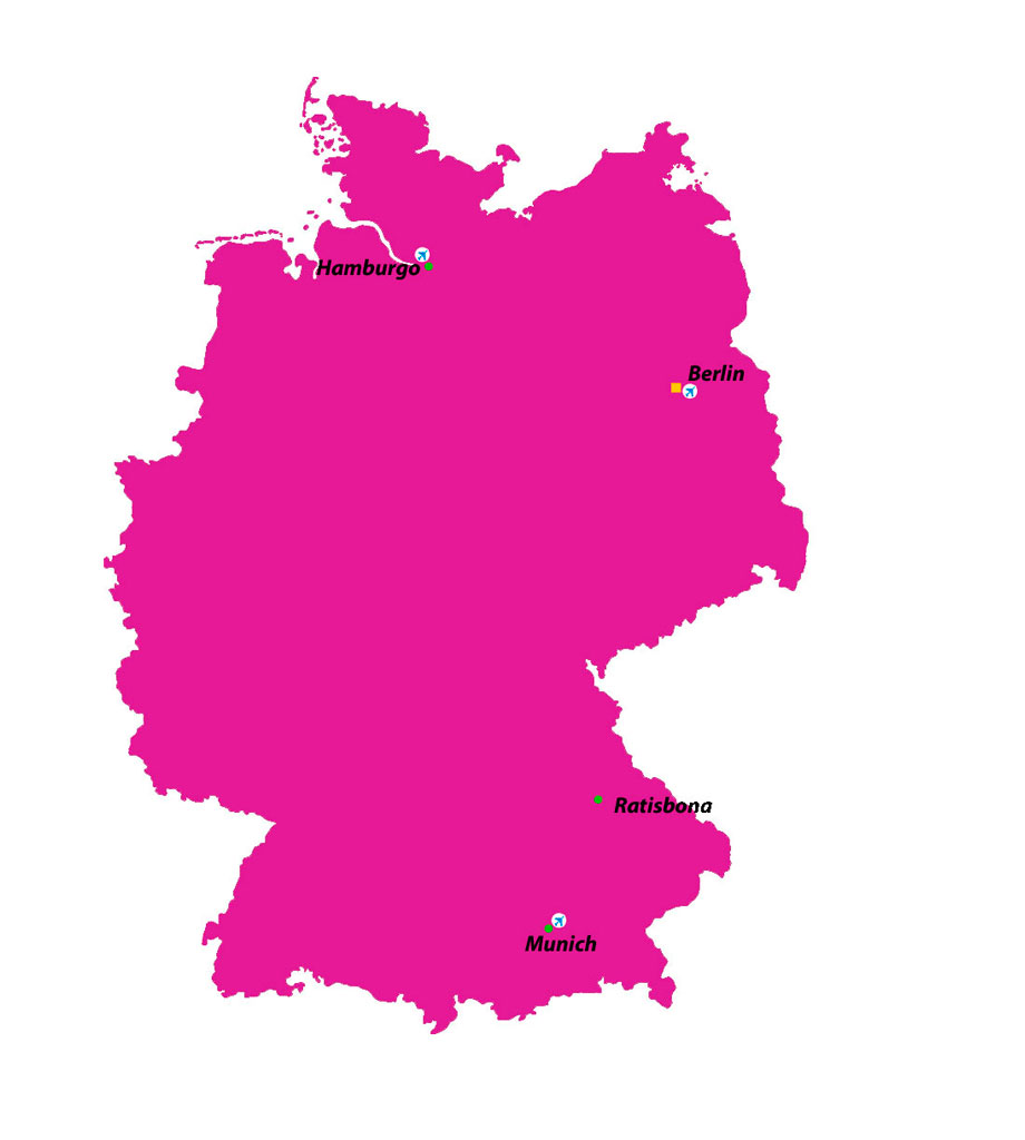 Map of  Alemania