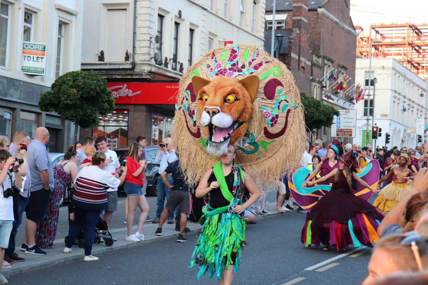 Brazil festival parade Liverpool