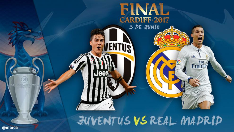 Champions 2017 - Juventus vs. Real Madrid