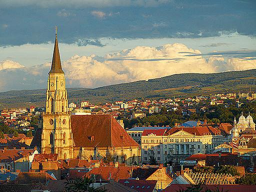 Cluj-Napoca city in Romania