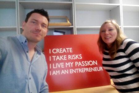 Elena & Esteban - siblings entrepreneurs