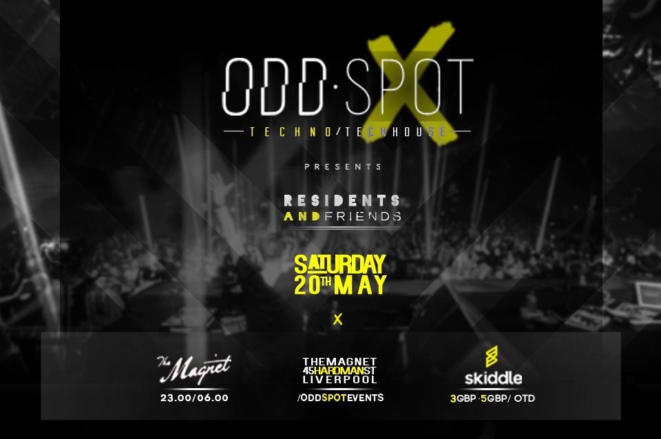 ODD·SPOT Techno & Tech House event