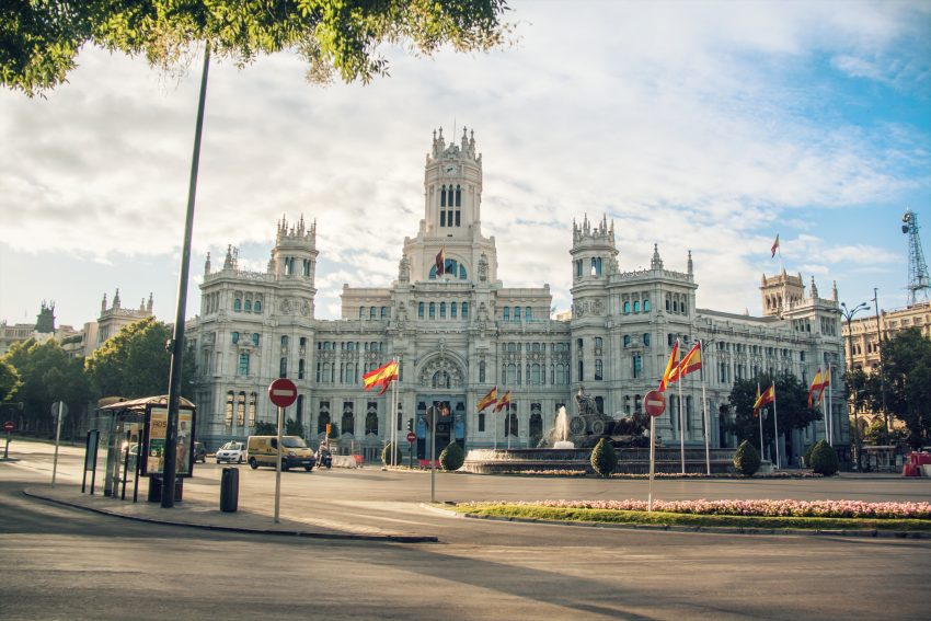 Spanish internship Madrid