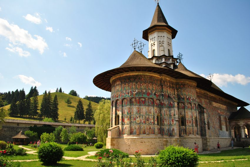 Romanian Painted Monastery