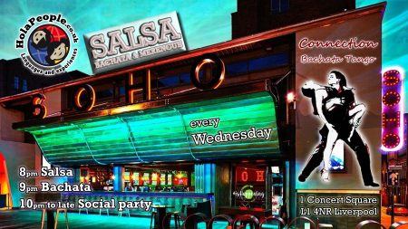 Salsa & Bachata classes at Soho