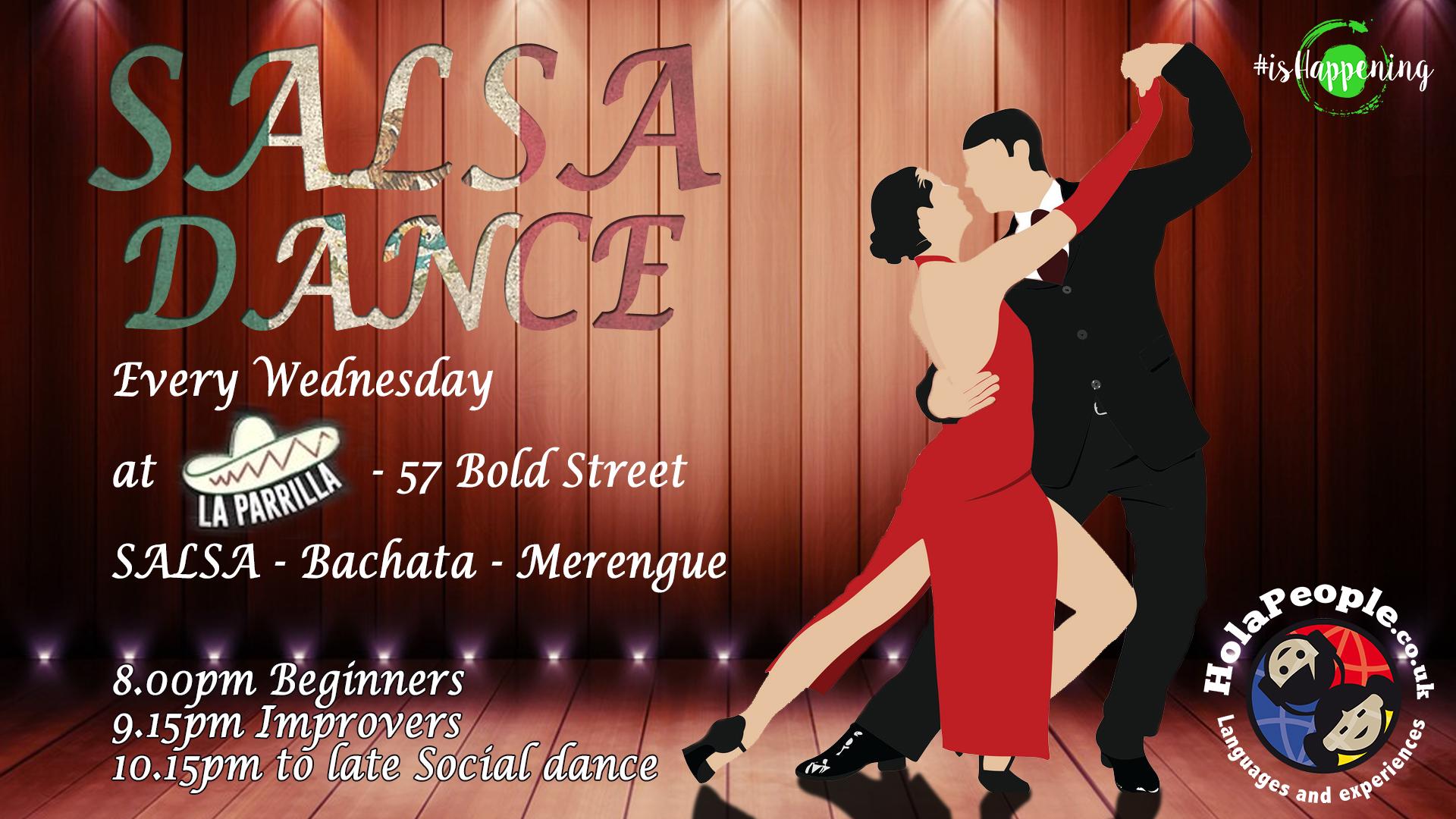 Salsa classes at La Parrilla