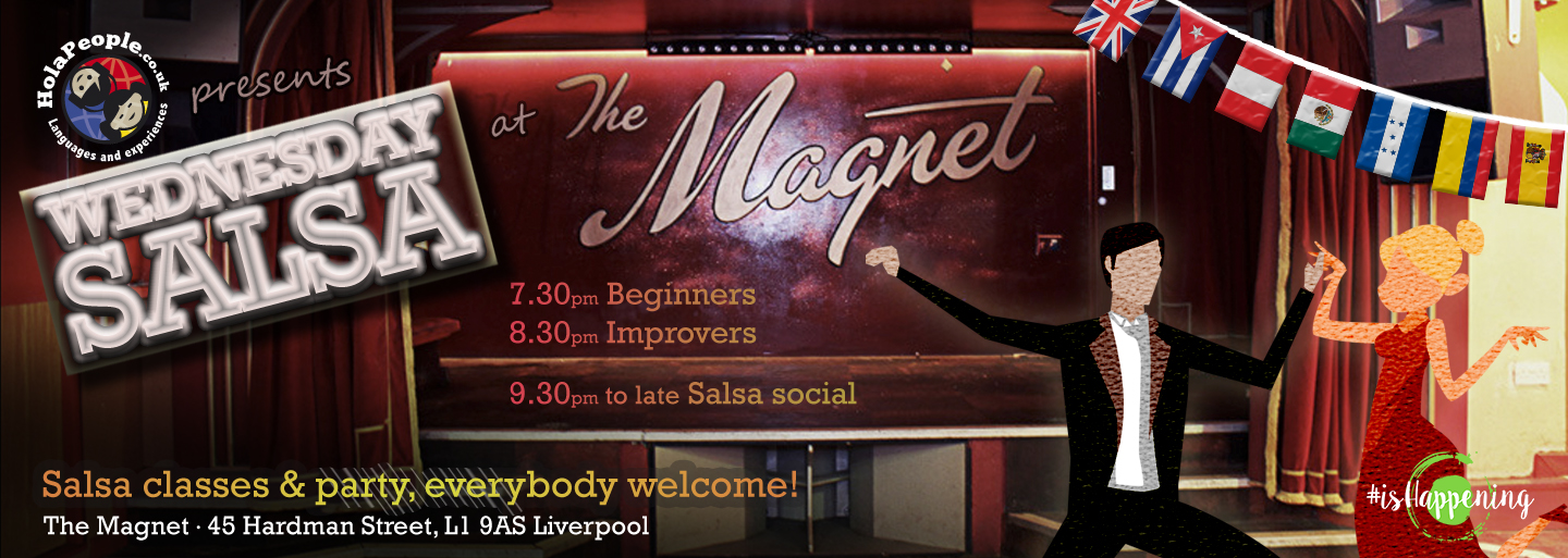 2455cf3ad7 Tuesday Salsa classes and social at The Magnet (April 4th 2017 ...