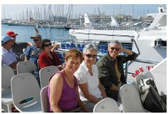 Boat trip in Alicante
