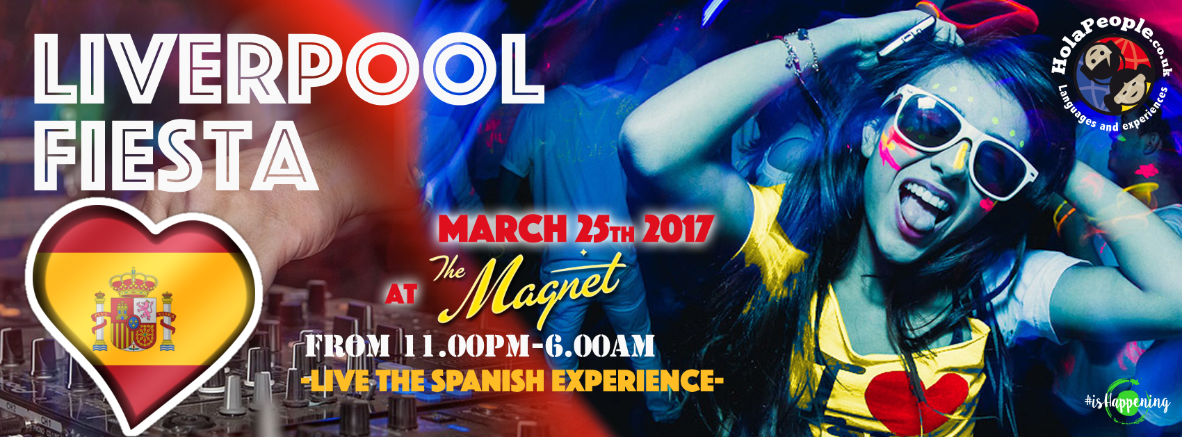 de79405050 Come and join us to meet new people and have a lot of fun in the Liverpool  Spanish Fiesta… at Spanish time!
