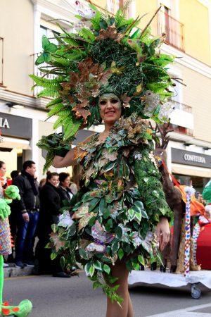 carnaval in Nerja, Malaga (Spain)