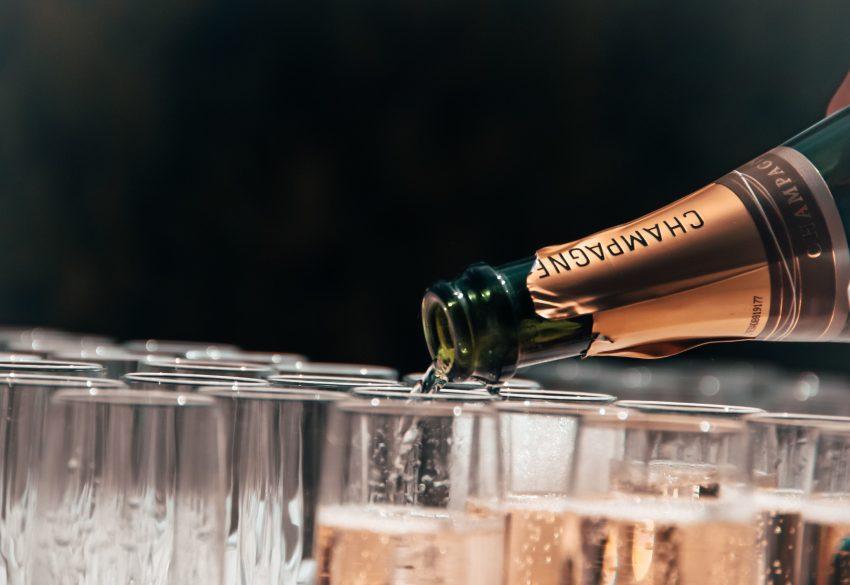 champagne history