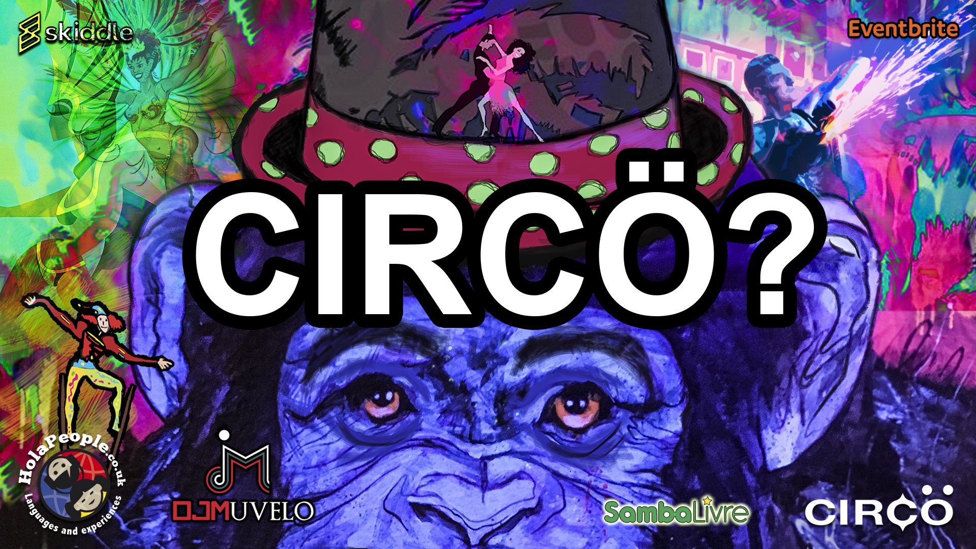 Liverpool Grand party Circo