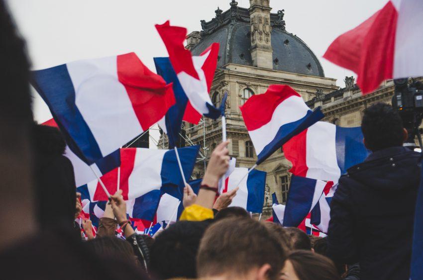 france flag city