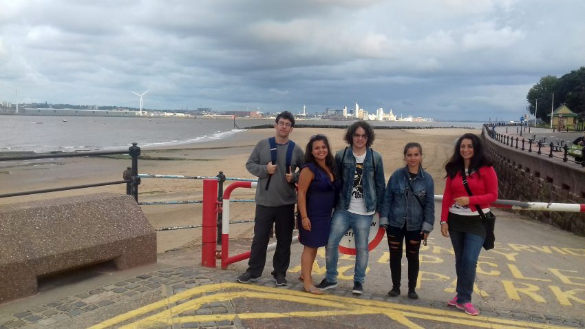 Excursion in the Wirral