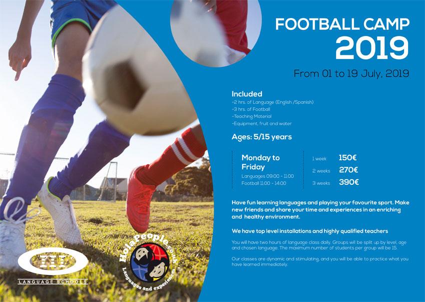 Football Summer Camp for children in Marbella (Spain)