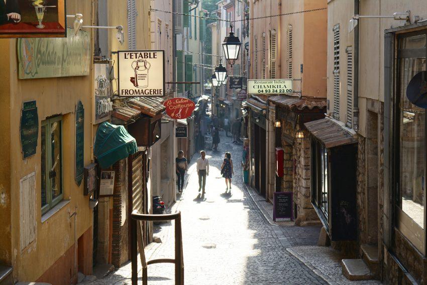 city france street