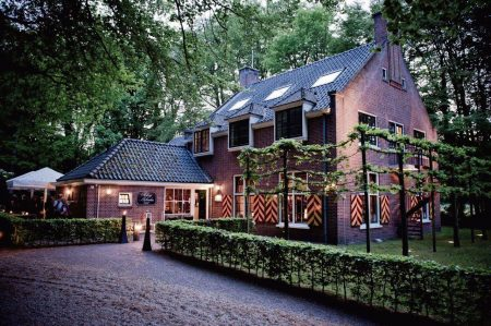 Restaurant in the forest of Hattem