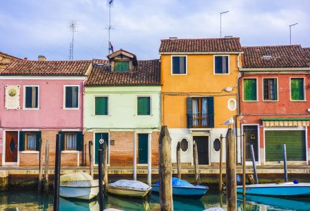 Murano and it's Beautiful houses