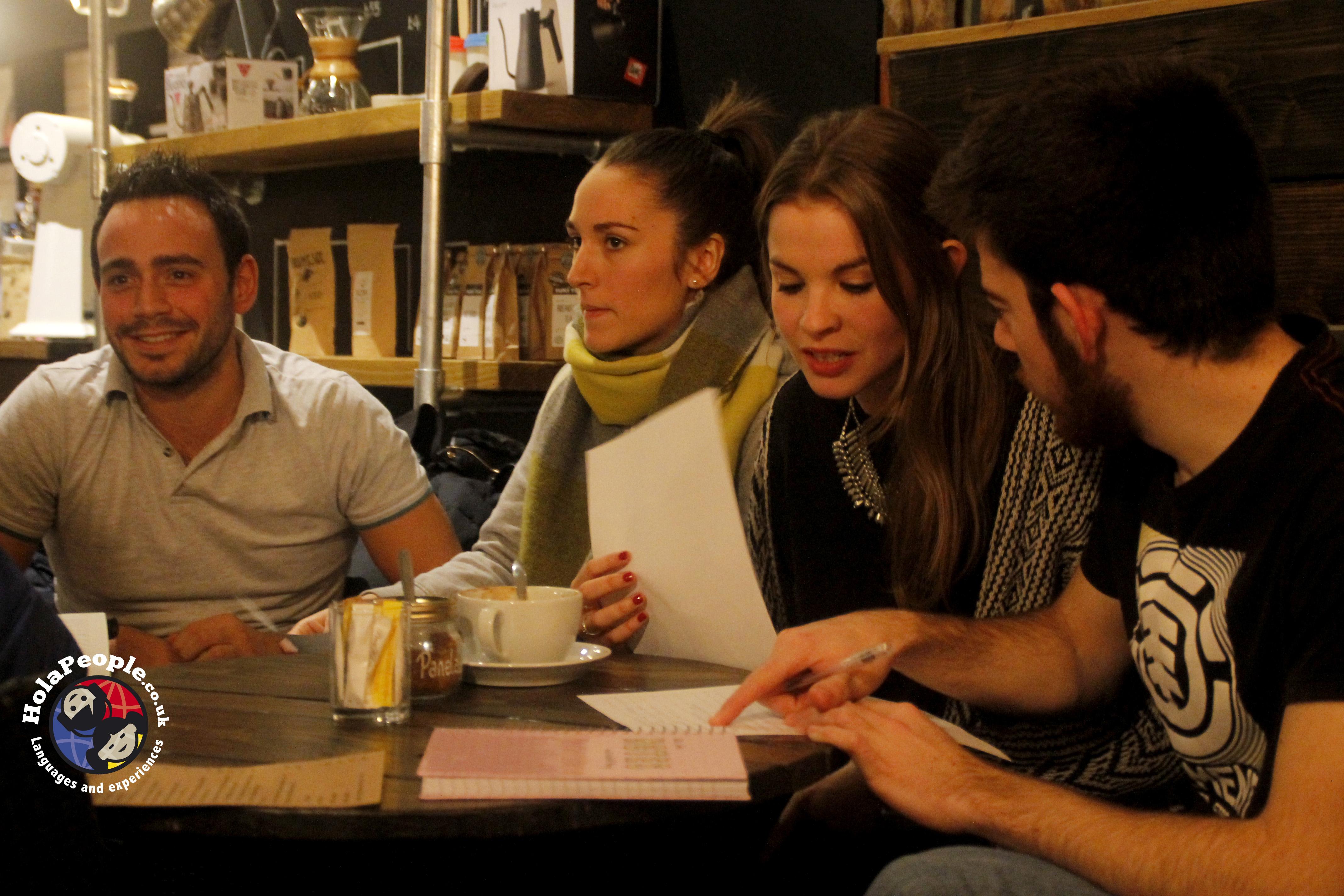 Social language learning