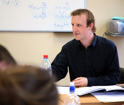 Work aNative English teacher working in Spain