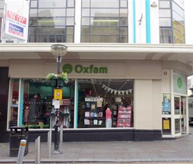 Oxfam, 35-37 Back Bold Street, Liverpool L1 4DN · Volunteering in Liverpool (UK)