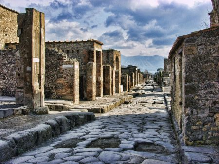 Pompeji, the city that got fired by the Vesuv - history
