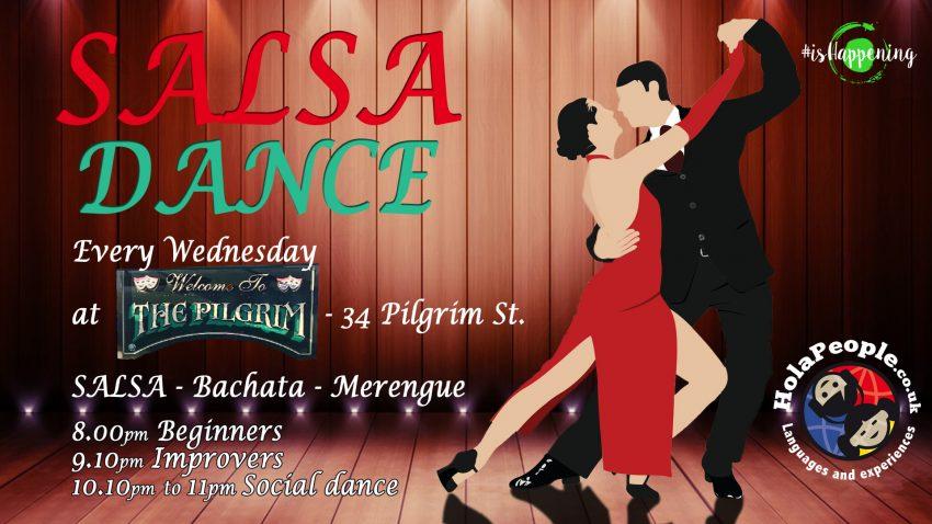 Salsa/Bachata at The Pilgrim - Liverpool