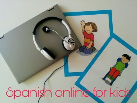 Spanish online classes for children