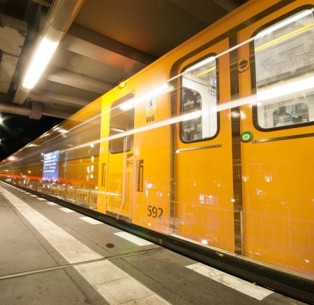 Bahn, Züge in Berlin